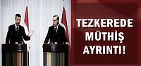 TEZKEREDE MÜTHİŞ AYRINTI!