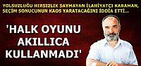 'YIKTINIZ, YAPIN DA GÖRELİM'