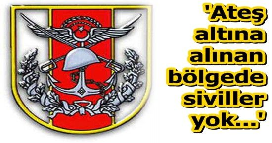TSK'DAN FLAŞ AÇIKLAMA...