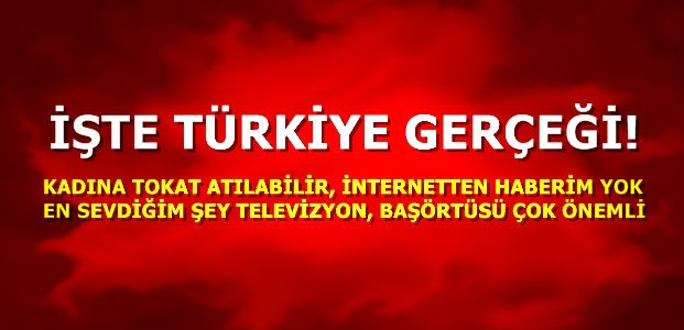 TÜRKİYE GERÇEĞİ...