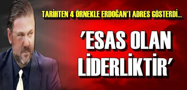 'TÜRKİYE HEP LİDERSİZ KAYBETTİ'