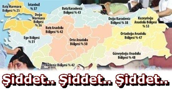 TÜRKİYE'NİN ŞİDDET HARİTASI ÇİZİLDİ