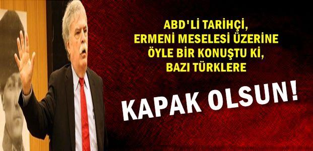 'TÜRK'Ü İNCİTİRSEN İKİ ŞEY YAPAR...'