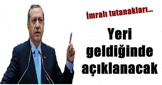 'TUTANAKLAR YERİ GELDİĞİNDE AÇIKLANACAK'
