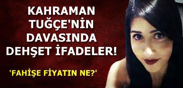 TUVALETTE TEHDİT ETTİLER...