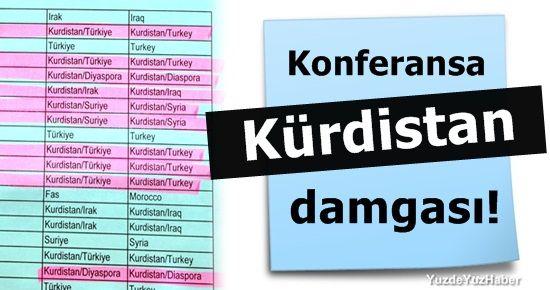 ÜLKELERİNE 'KÜRDİSTAN/TÜRKİYE' YAZDILAR...