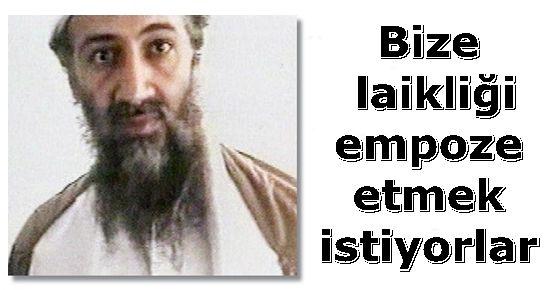 USAME BİN LADİN VE TÜRKİYE...