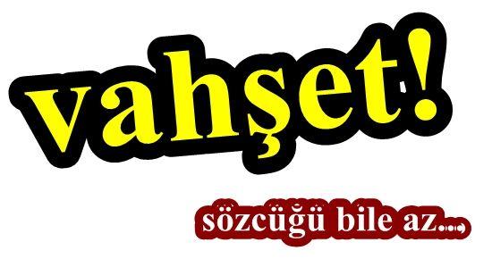 'VAHŞET' SÖZCÜĞÜ AZ KALIR!