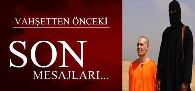 VAHŞETTEN ÖNCEKİ SON MESAJLAR!