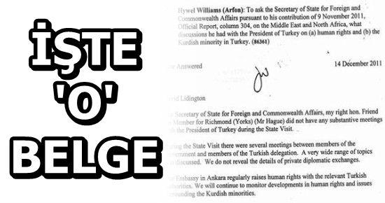 VEKİLDEN PKK'YA DESTEĞİN İSPATI...