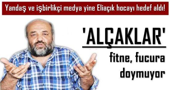 YANDAŞ MEDYANIN 'İHSAN ELİAÇIK' VE GEZİ KİNİ...