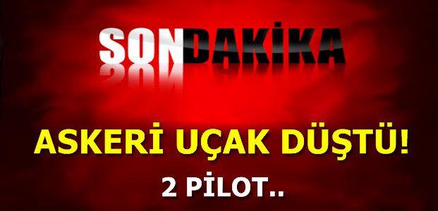 YİNE ASKERİ UÇAK.. YİNE KAZA..