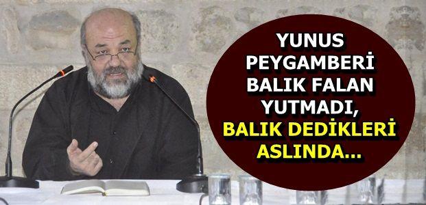 'YUNUS'U BALIK FALAN YUTMADI...'