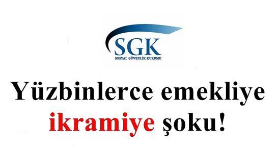 YÜZ BİNLERCE EMEKLİYE 'İKRAMİYE' ŞOKU!