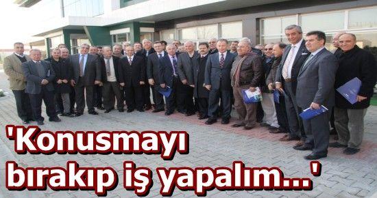 'ZAMAN KAZMAYI KÜREĞİ ELE ALMA ZAMANIDIR...'