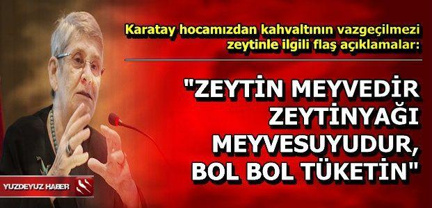 ZEYTİNYAĞI MUCİZESİ...