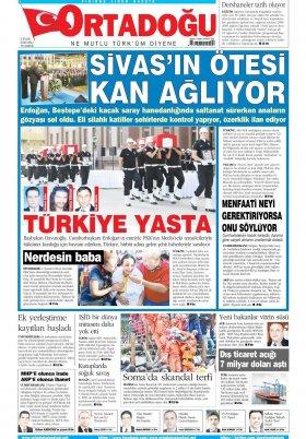 yuzdeyuzhaber - 02 Eylül 2015 Manşeti