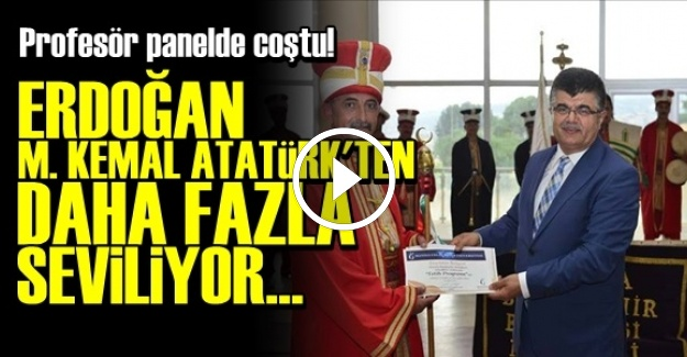 PROFESÖR ÖYLE BİR COŞTU Kİ!..