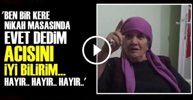 REFERANDUMA ÖYLE BİR HAYIR DEDİ Kİ...