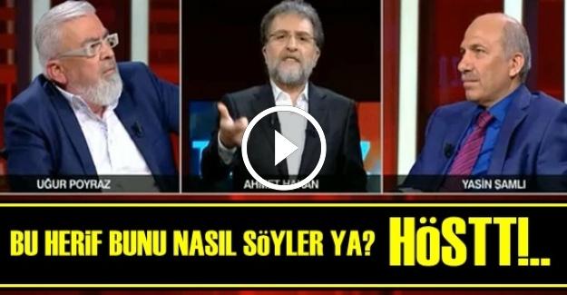 AHMET HAKAN'DAN SERT TEPKİ!