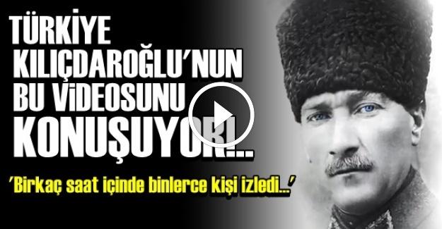 KILIÇDAROĞLU'NUN OLAY VİDEOSU!..