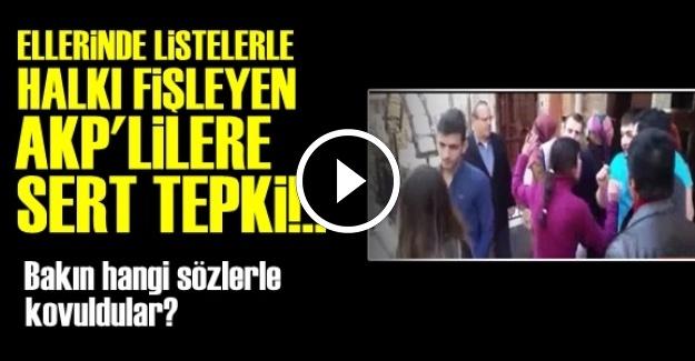 MAHALLELİ AKP'LİLERİ KOVDU!..