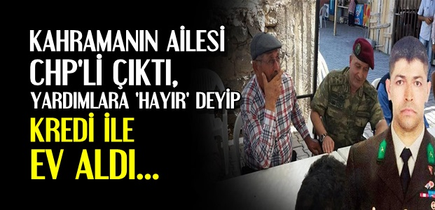 AİLESİ CHP'Lİ ÇIKTI...