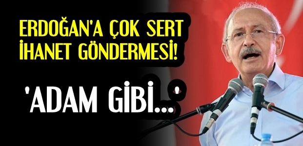 ERDOĞAN'A ÇOK SERT SÖZLER!