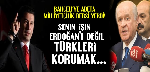 SİNAN OĞAN'DAN FLAŞ SÖZLER...
