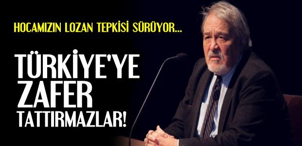 'TÜRKİYE'YE ZAFER TATTIRMAZLAR'