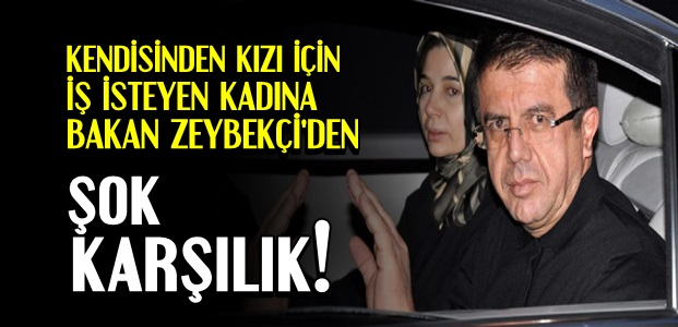 BAKAN ZEYBEKÇİ'DEN ŞOK KARŞILIK...