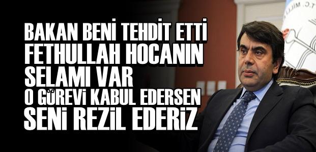 MÜSTEŞARDAN FLAŞ AÇIKLAMALAR!..