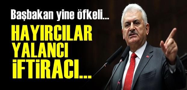 YILDIRIM 'HAYIRCILARA' VERDİ VERİŞTİRDİ!..