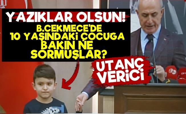 AKP 10 Yaşındaki Çocuğa Bakın Ne Sordu?