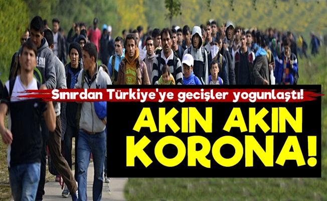 Sınırdan Akın Akın Korona Geliyor!