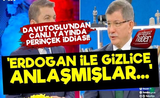 'Erdoğan İle Perinçek Gizlice Anlaştı'