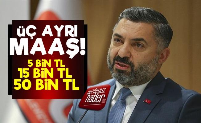 RTÜK Başkanı'na Maaş Üstüne Maaş!