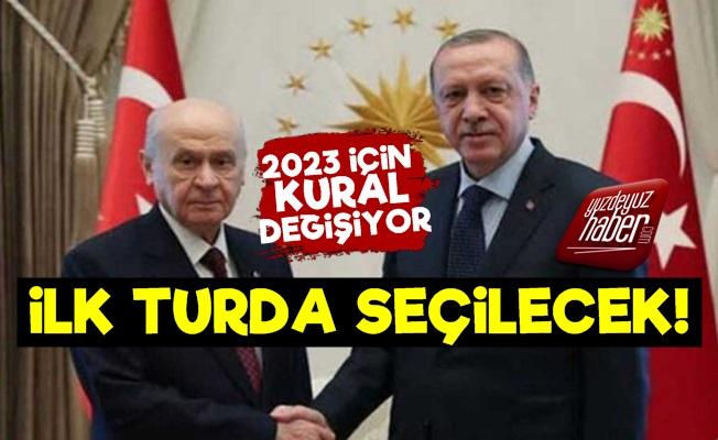 Kural Değişiyor! Erdoğan İlk Turda İşi Bitirecek