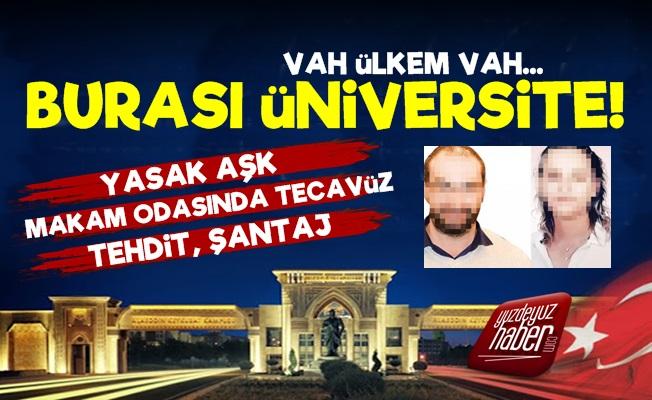 Selçuk Üniversitesi'nde Skandal Olay!