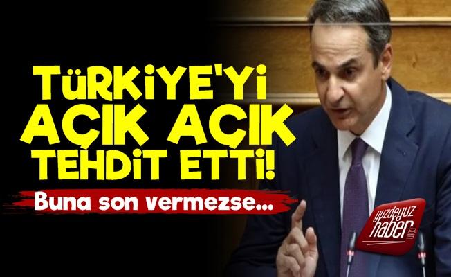 Türkiye'yi Açık Açık Tehdit Etti!