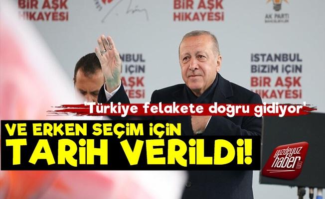 Gelecek Partisi Erken Seçim Tarihi Verildi!