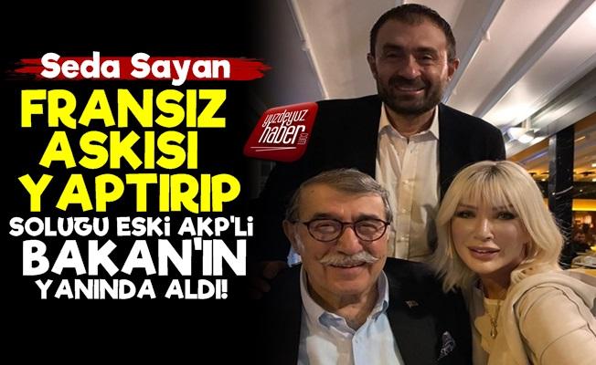 Seda Sayan'dan Fransız Askılı Poz!