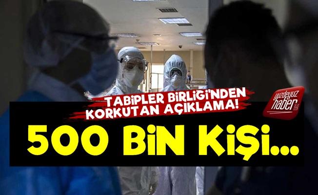Tabipler Birliği: Tam 500 Bin Kişi...