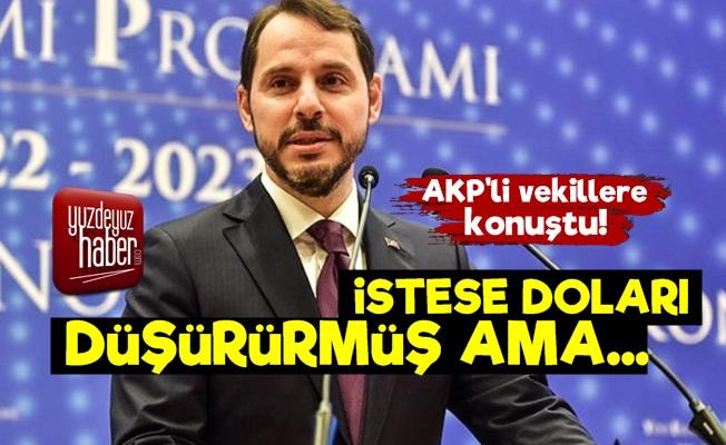 Berat Albayrak'tan Döviz Sözleri!