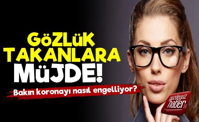 Gözlük Takanlara Korona Müjdesi!
