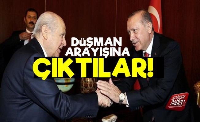 Erdoğan-Bahçeli İkilisi Düşman Arayışına Girdi!