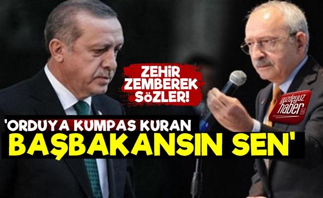 Kılıçdaroğlu'ndan Erdoğan'a Zehir Zemberek Sözler!