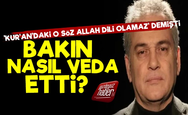 Mustafa Öztürk'ten Olay Veda!