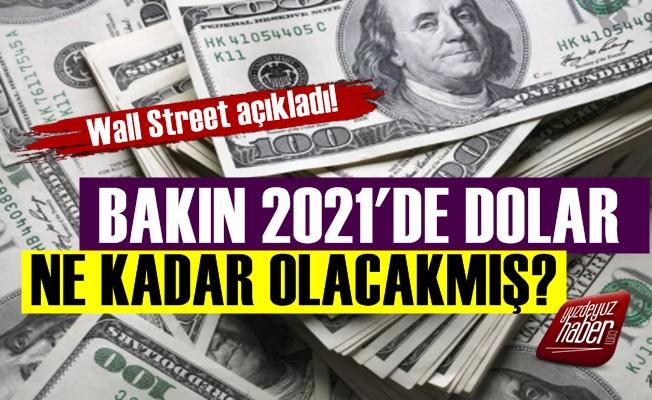 2021'de Doların Ne Kadar Olacağı Açıklandı!