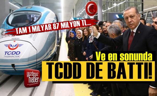 En Sonunda TCDD de Battı!